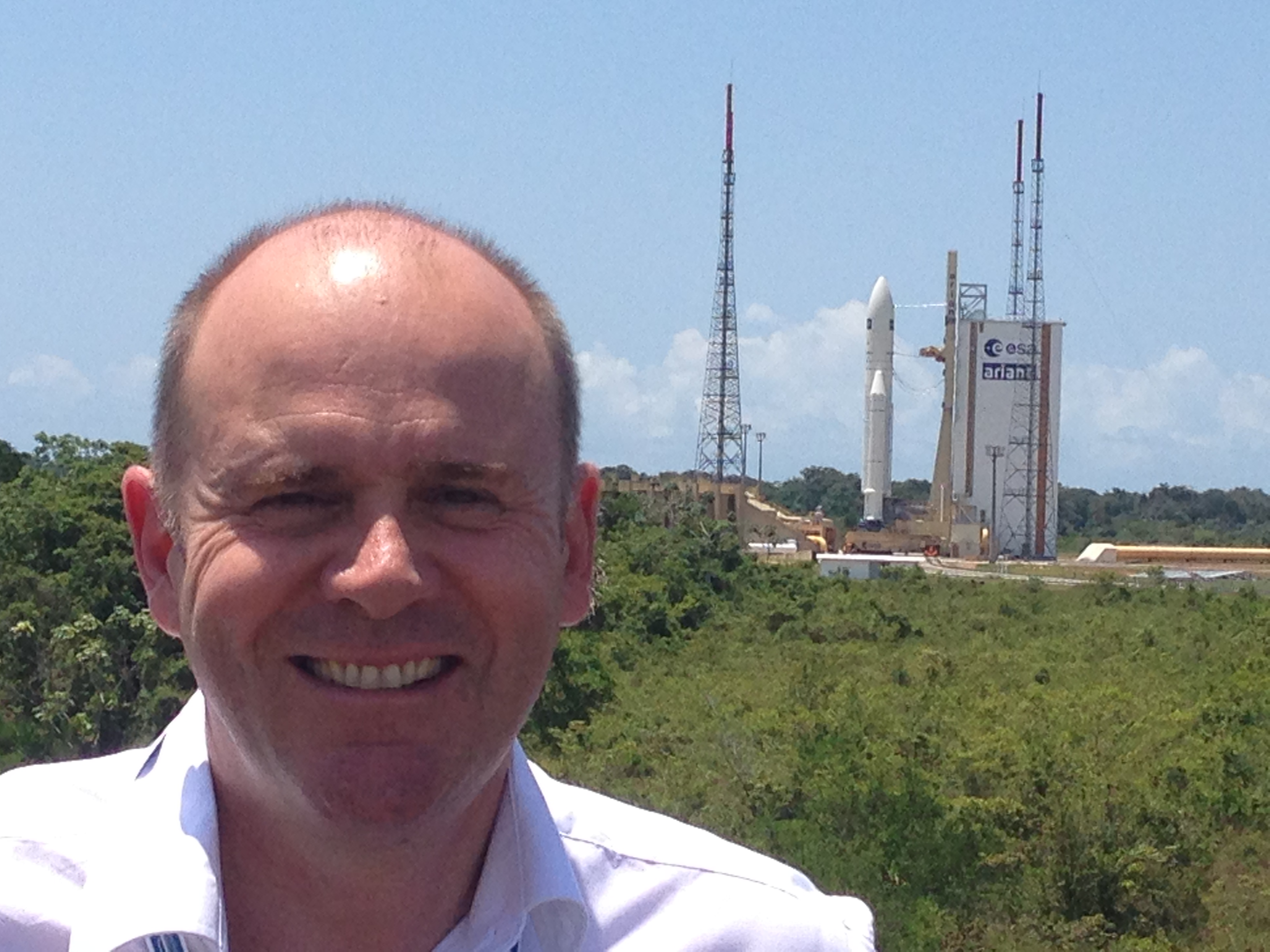 20140729-Ariane 5 Start Kourou